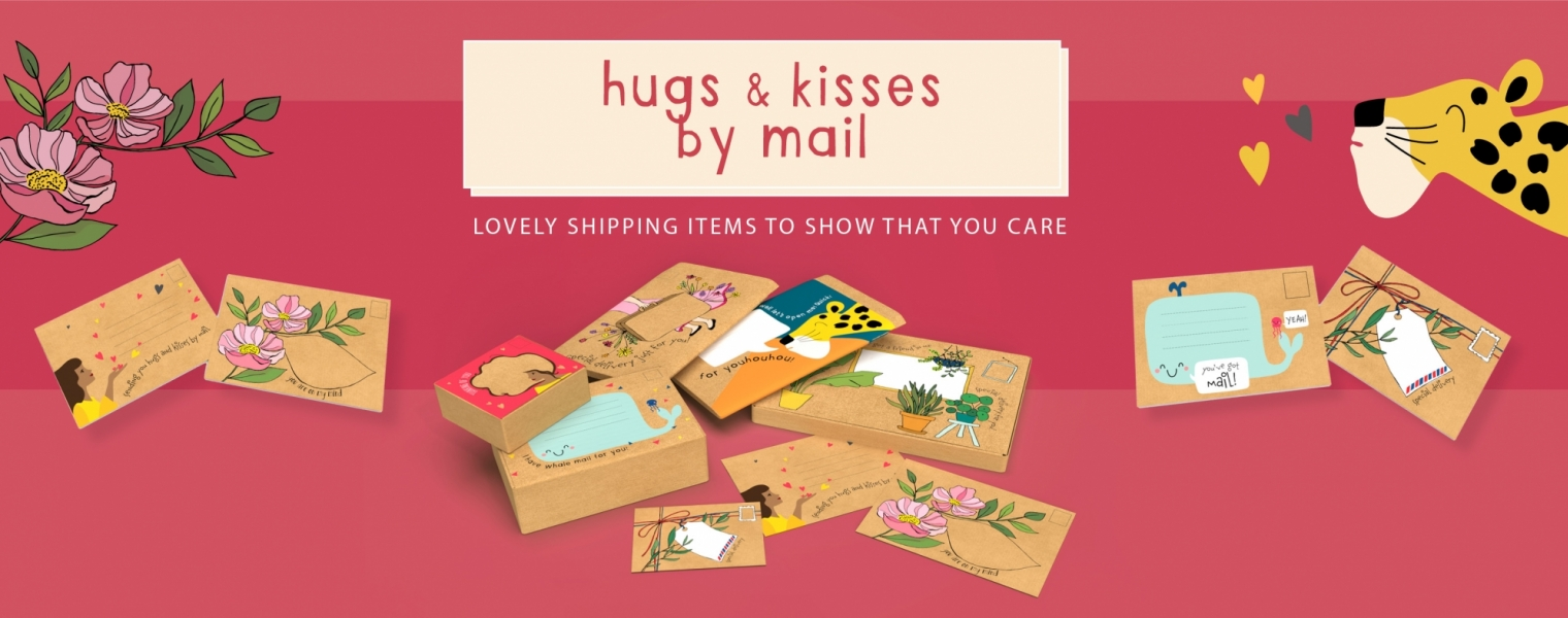 Hugs&kisses by mail